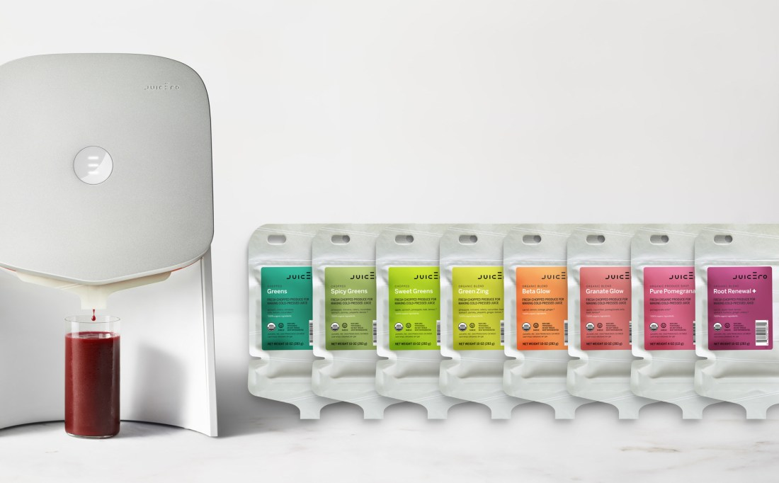 Juicero Press Packs