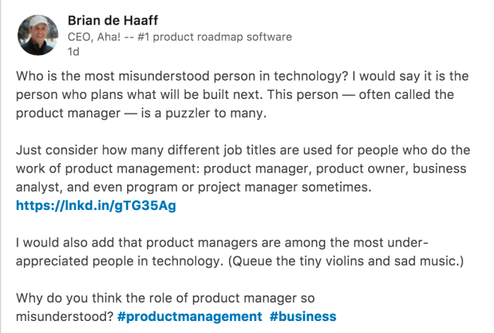 Who is a Product Manager? | PRODUCT LEADERSHIP